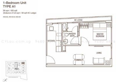 spazio kovan 1 bedroom a1