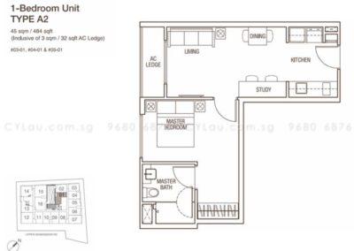 spazio kovan 1 bedroom a2