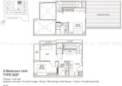 spazio kovan 2 bedroom penthouse