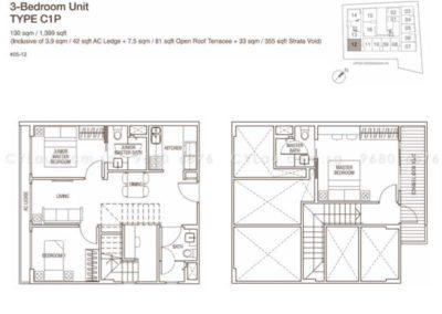 spazio kovan 3 bedroom penthouse