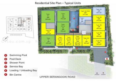 spazio kovan site plan 2