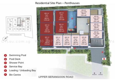spazio kovan site plan 3
