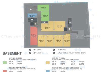 spazio kovan site plan commercial 1