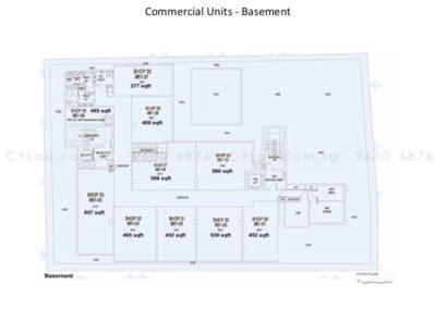 spazio kovan site plan commercial 4
