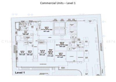 spazio kovan site plan commercial 5