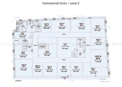 spazio kovan site plan commercial 6