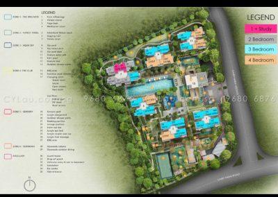 the skywoods site plan a