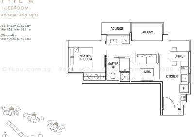 thomson three 1-bedroom