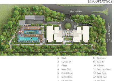 alex residences site plan level 1