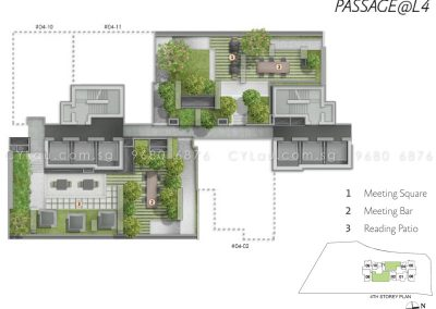 alex residences site plan level 4