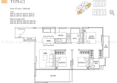 goodwood grand 3-bedroom