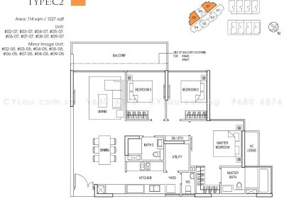 goodwood grand 3-bedroom utility