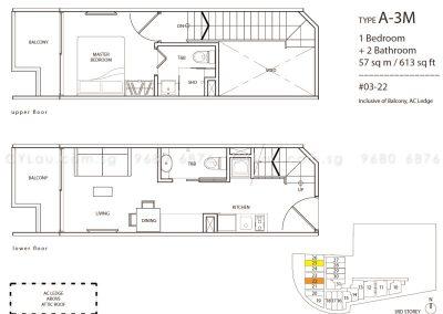 guillemard suites 1-bedroom a3m