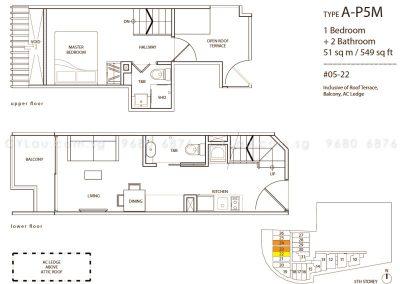 guillemard suites 1-bedroom ap5m
