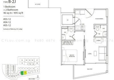 guillemard suites 1-bedroom b2j