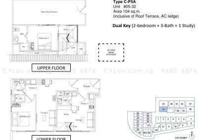 guillemard suites 2-bedroom cp5a