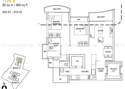 hallmark residences 2-bedroom