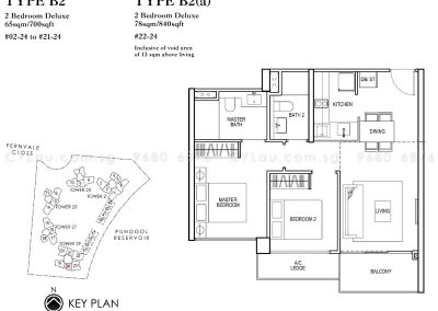 rivertrees residences 2-bedroom