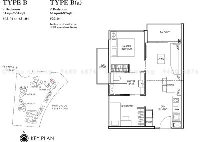 rivertrees residences 2-bedroom compact