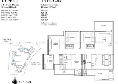 rivertrees residences 3-bedroom