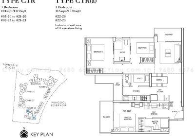 rivertrees residences 3-bedroom dual-key