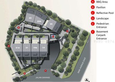 terra villas site plan