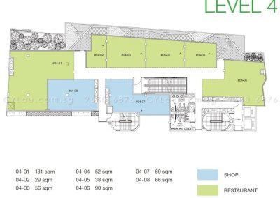 trio floor plan level 4