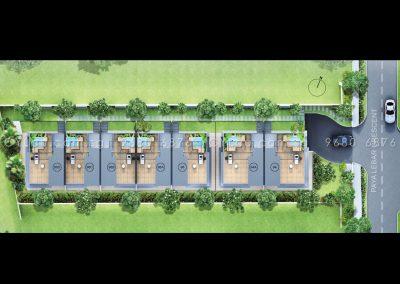 urban villas site plan
