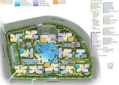 coco palms site plan