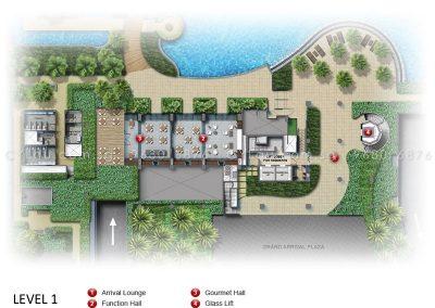 coco palms site plan level 1
