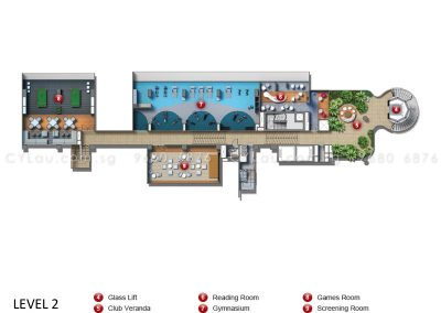 coco palms site plan level 2