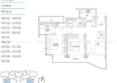 kallang riverside 2-bedroom