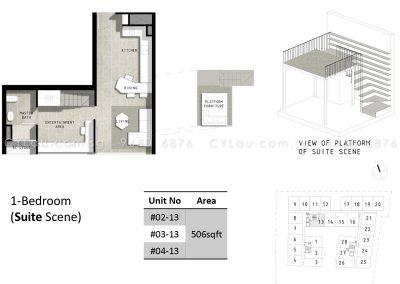 bijou 1-bedroom suite