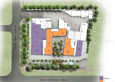 bijou site plan level 1