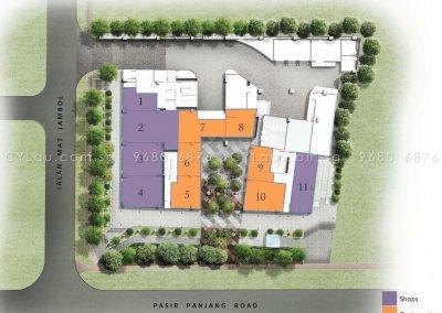 bijou site plan level 1