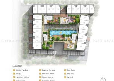 bijou site plan level attic