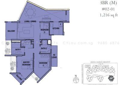 the crest 3-bedroom 02-01