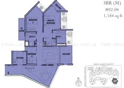 the crest 3-bedroom 02-04