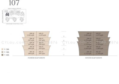 the crest diagrammatic chart tower 107
