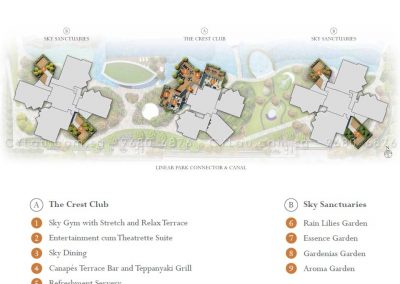 the crest site plan level 23