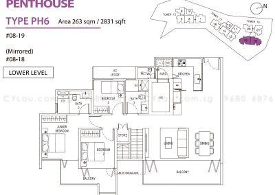 pollen bleu 4-bedroom penthouse 1