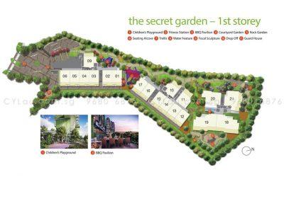 pollen bleu site plan level 1