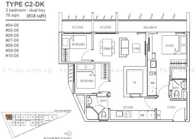 the-rise-oxley-3-bedroom-dual-key
