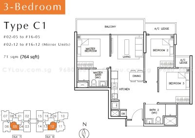 tre-residences-3-bedroom-c1