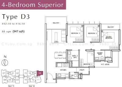 tre-residences-4-bedroom