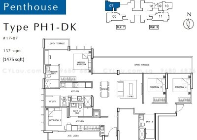 tre-residences-4-bedroom-penthouse