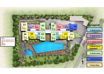 tre-residences-site-plan-with-units