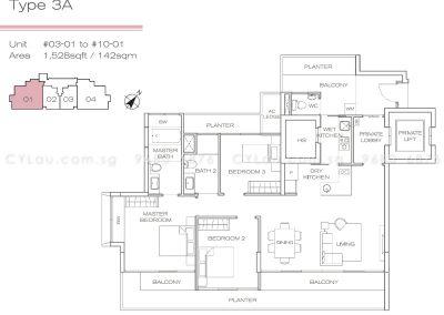 three-balmoral-3-bedroom-stack-1