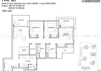 high-park-residences-3-bedroom
