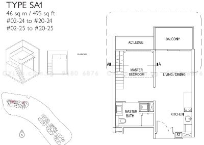 j gateway 1-bedroom soho